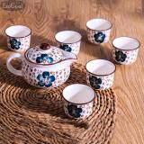 Jvgood 7 Pcs Rainbow Colors ชุดชาจีน สำหรับชงชาและเตาไฟฟ้า ครบเซต สำหรับ 7 ท่าน รวมอุปกรณ์ 7 ชิ้น จีน