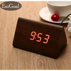 ราคา ราคาถูกที่สุด Jvgood นาฬิกาปลุกตั้งโต๊ะ นาฬิกาปลุกเรื่องแสง นาฬิกาปลุก สีขาว Led Smart Digital Alarm Clock Rose Intl
