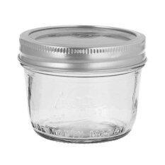 Kerr® Wide Mouth Half-Pint Mason Jar 8 oz.