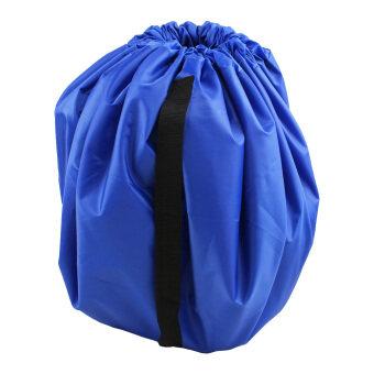 Kids Play Mat Bag Portable Toy Storage Organizer(Blue)