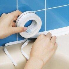 Kitchen Bathroom Wall Sealing Tape Waterproof Mold Proof Adhesive Tape - Intl.
