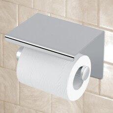 ห้องครัวห้องน้ำห้องน้ำห้องน้ำผู้ถือกระดาษสแตนเลสชั้นวางของ -