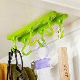 ทบทวน Kitchen Ceiling Hook Storage Cabinets Wardrobe Rack Multi Purpose Hook Load 2Kg Green Intl Unbranded Generic