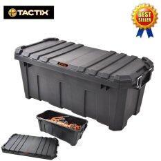 ส่วนลด กล่องใส่เครื่องมือช่าง กล่องใส่ของ 60L Heavy Duty 320504 Tactix Tactix