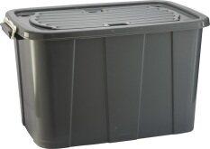 ขาย กล่องฝาล็อคมีล้อ 150 ลิตร รุ่น 3093B สีดำ ออนไลน์ Thailand