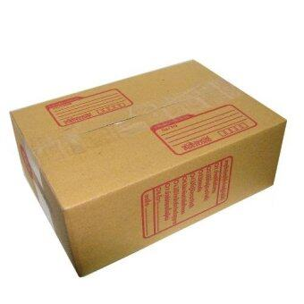 กล่องพัสดุ กล่องไปรษณีย์ ขนาด 0 (แพ็ค 40 ใบ)(น้ำตาลเข้ม)จากโรงงาน