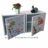 ซื้อ Kmp Furnifure ตู้เซฟวินเทจ ตู้เก็บของ ตู้ข้างเตียง ตู้อเนกประสงค์ แพ็คคู่ 2 ตัว รุ่น Safe Box1 2 สีขาว ลายภาพการ์ตูน กรุงเทพมหานคร