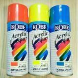 ขาย Kobeสีพ่นสเปรย์ สีเสปรย์ สีอะคริลิค ใช้งานได้หลากหลาย สีสวยสดทนนาน สีส้ม สีเหลืองสะท้อนแสง สีน้ำเงิน 3กระป๋อง ราคาส่ง Toa ผู้ค้าส่ง