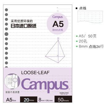 Kokuyo A5/B5/A5/B5 Notepad ง่ายโปร่งใสคุกกี้สีพาสเทล