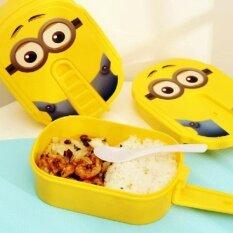 สไตล์เกาหลีน่ารักนักเรียนสีเหลืองกล่องอาหารกลางวัน นานาชาติ Unbranded Generic ถูก ใน จีน