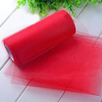 กระดาษทิชชูม้วนผ้าสีสันสดใสฝีมือการตกแต่งงานแต่งงานวันเกิดหลอดสีแดง