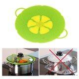 ส่วนลด Kuhong Spill Stopper Silicone Lid Cover Pots Pans Overflow Boil Cooking Tools Intl จีน