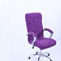 ขาย L Spandex Office Chair Cover Slipcover Armrest Cover Computer Seat Cover Stool Swivel Chair Elastic Chair Is Not Included Intl จีน