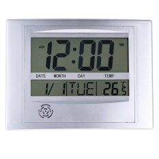 ส่วนลด สินค้า La Crosse Technology Wt 8002U Digital Wall Clock Intl