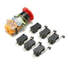La39 11Zs Sign Emergency E Stop Push Button 6Pcs End Stop Limited Micro Switch Intl ใน Thailand