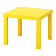 ราคา ราคาถูกที่สุด Lack โต๊ะข้าง เตียง Side Table 55 55 Cm เหลือง