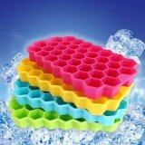 Large Ice Cube Tray Pudding Jelly Maker Mold Honeycomb Square Mould Silicone Diy Intl เป็นต้นฉบับ