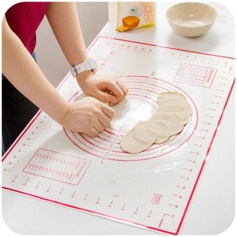 Large Size 60 x 40cm Silicone Baking Mat Sheet Rolling Dough Liners Mats Pads Oven Pasta - intl