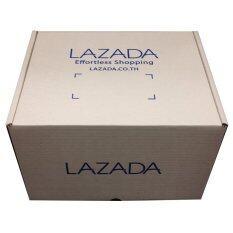 Lazada กล่องพัสดุ กล่องไปรษณีย์ ขนาด 30 X 25 X 18 Cm D0 แพ็ค 25 ใบ ไทย
