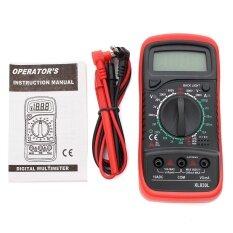 ทบทวน Lcd Digital Multimeter Voltmeter Ac Dc Ohmmeter Ammeter Capacitance Ohm Tester Intl