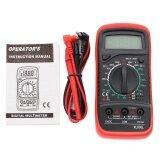 ราคา Lcd Digital Multimeter Voltmeter Ac Dc Ohmmeter Ammeter Capacitance Ohm Tester Intl ใน จีน
