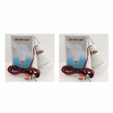 ซื้อ Led 12V 3W Bulb With Wire Clip หลอดไฟแอลอีดี 3 วัตต์ สายไฟ ใหม่ล่าสุด