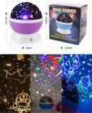 ขาย โคมไฟLed แบบหมุนได้ ลายดวงดาว ไฟหลายสีสลับไปมา ออนไลน์ ใน กรุงเทพมหานคร