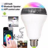 ขาย Led Bluetoothหลอดไฟอัจฉริยะ หลอดไฟลำโพง บูลทูธ Smart Colorful Rgb Led Light E27 Bulb