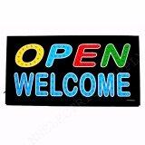 ซื้อ Led Board Sing Open Welcome ขนาด48 25 ซม ใช้ตกแต่งหน้าร้านค้า แบบ Led ข้อความ Welcome ขนาด 48 25 ซม ป้ายไฟสำเร็จรูปอักษร ตกแต่งหน้าร้านค้า Led Sign ข้อความ Welcome กรุงเทพมหานคร