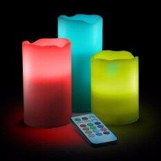 ราคา Led Candles แท่งเทียนไฟ Led เปลี่ยนสีได้ 12 สี 3 ขนาด บังคับด้วยรีโมท สำหรับเป็นเครื่องประดับตกแต่งบ้านและห้องนอน ร้านอาหาร ออนไลน์ กรุงเทพมหานคร