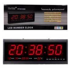 โปรโมชั่น นาฬิกาดิจิตอล Led Digital Clock แขวนติดผนัง 48 X 18 2 X 4 8 Cm รุ่น 4819 ตัวเลขสีแดง กรุงเทพมหานคร