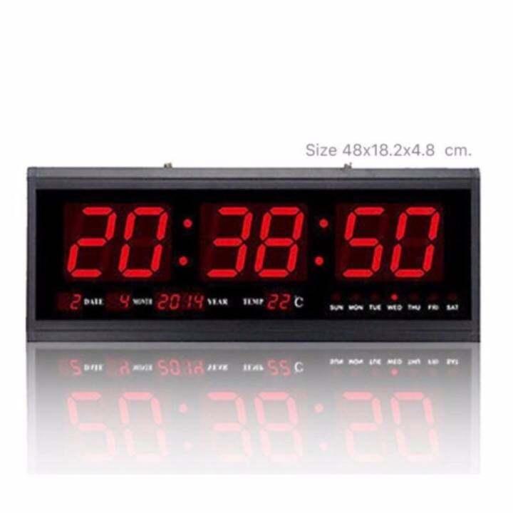 LED DIGITAL CLOCK นาฬิกาดิจิตอลแขวนผนัง รุ่น CX-4819