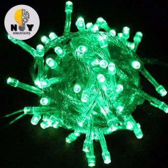 ไฟคริสมาส ไฟกระพริบ LED สี Green แพ็ค 3 ชิ้น