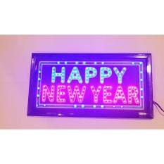 ทบทวน ป้ายไฟLed Happy New Year ขนาด50 26 ซม อักษร ตกแต่งร้าน สถานที่ Led Sign ข้อความ Unbranded Generic