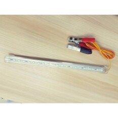 ซื้อ ชุดหลอดไฟ พร้อมสาย ปากคีบแบต Led T8 12V Dc ขนาด 12Watt 30 Cm ใน กรุงเทพมหานคร