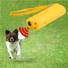 ซื้อ Led Ultrasonic Anti Bark Barking Dog Training Repeller Control Trainer Device 3 In 1 Anti Barking Stop Bark Dog Training Device Intl ใหม่
