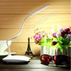 โคมไฟ Led ตั้งโต๊ะหนังสือ Usb (สีขาว).