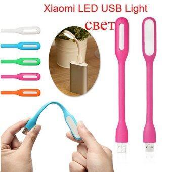 LED USB Light ไฟฉาย โคมไฟ USB แบบพกพา 2 ชิ้น