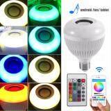 ส่วนลด Led Wireless Bluetooth Bulb Light Speaker หลอดไฟลำโพงบลูทูธ 12W Rgb Smart Music Play Lamp Remote Unbranded Generic ใน กรุงเทพมหานคร