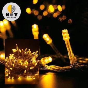 ไฟคริสมาส ไฟกระพริบ LED สี Yellow แพ็ค 3 ชิ้น
