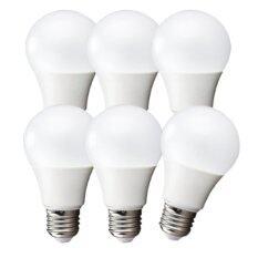 ซื้อ Ledandlamp หลอดไฟแอลอีดี Led Bulb ขั้ว E27 ขนาด 12W แสงเหลืองนวล Warmwhite แพ็ค 6 หลอด ใหม่ล่าสุด