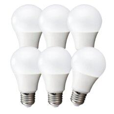 ราคา Ledandlamp หลอดไฟ Led Bulb ขั้ว E27 ขนาด 9W แสงสีขาว Day Light แพ็ค 6 หลอด ถูก