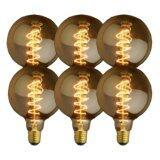 ขาย Ledandlamp หลอดไฟเอดิสัน ขั้ว E27 แบบรุ่น E06 G95 Spiral แพ็ค 6 หลอด ราคาถูกที่สุด
