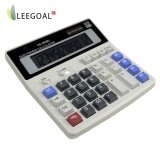 ขาย ซื้อ Leegoal 12 หลัก เครื่องคิดเลขแบบพกพานักเรียน Ds 200 Ml แบตเตอรี่พลังงานแสงอาทิตย์เครื่องคิดเลขสก์ท็อป 15 8 16Cm Intl ใน จีน