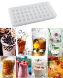 ซื้อ Leegoal 40 Ice Cube Trays Silicon Ice Mold Tray Candy Chocolate Silicone Molds Mini Ice Ball Maker Party Maker Square White Intl ถูก จีน