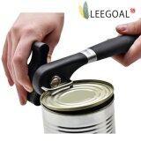 Leegoal สามารถเปิดขวดได้ด้วยกระป๋องเหล็กกล้าไร้สนิมกับแอนตี้สลิปจัดการจับ สีดำ Leegoal ถูก ใน จีน