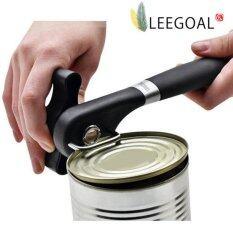 ซื้อ Leegoal สามารถเปิดขวดได้ด้วยกระป๋องเหล็กกล้าไร้สนิมกับแอนตี้สลิปจัดการจับ สีดำ ถูก ใน จีน