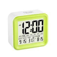 ขาย Leegoal Digital Alarm Clock With 3 Alarms And Night Light Time Date Day Of Week Temperature Display Clock Green Leegoal ออนไลน์