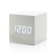 ทบทวน ที่สุด Leegoal นาฬิกาดิจิตอล Led ที่มีอุณหภูมิถ่านไฟฟืนคืนสัญญาณควบคุมเสียง ขาว และขาว Led