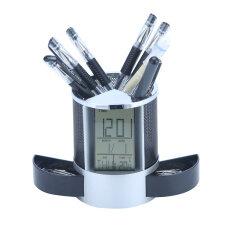 ราคา Leegoal ดินสอปากกามัลติฟังก์ชั่นกล้องสำหรับทัวร์ สีดำ Leegoal เป็นต้นฉบับ